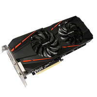 Gigabyte GeForce GTX 1060 G1 Gaming 6G (rev. 2.0) GeForce GTX 1060 6GB GDDR5 (Schwarz)