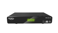 Xoro HRS 9198 LAN Terrestrisch Full-HD Schwarz TV Set-Top-Box (Schwarz)