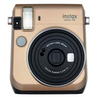 Fujifilm instax mini 70 62 x 46mm Gold Sofortbild-Kamera (Gold)