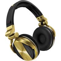 Pioneer HDJ-1500 Schwarz ohrumschließend Kopfband Kopfhörer (Schwarz, Gold)