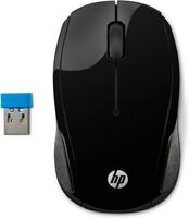 HP Wireless-Maus 200 (Schwarz)