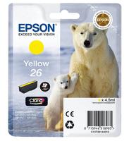 Epson C13T26144012 4.5ml 300Seiten Gelb Tintenpatrone