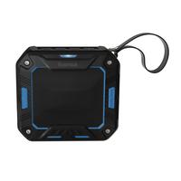 Hama Rockman-S Mono portable speaker 3W Schwarz, Blau (Schwarz, Blau)