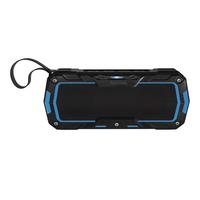 Hama Rockman-L Stereo portable speaker 6W Schwarz, Blau (Schwarz, Blau)
