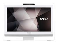 MSI Pro 20ET 4BW-058DE 1.6GHz N3160 19.5Zoll 1600 x 900Pixel Touchscreen Weiß All-in-One-PC (Weiß)
