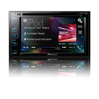 Pioneer AVH-290BT Bluetooth Schwarz Auto Media-Receiver (Schwarz)
