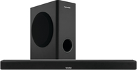 TechniSat AudioMaster SL 900 Verkabelt & Kabellos 2.1Kanäle 120W Schwarz Soundbar-Lautsprecher (Schwarz)