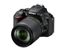 Nikon D5600 + AF-S DX 18-105mm G ED VR 24.2MP CMOS 6000 x 4000Pixel Schwarz (Schwarz)