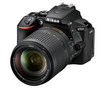 Nikon D5600 + AF-S DX 18-140mm G ED VR 24.2MP CMOS 6000 x 4000Pixel Schwarz (Schwarz)