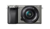 Sony α ILCE-6000 + E PZ 16-50mm 24.3MP CMOS 6000 x 4000Pixel Schwarz, Graphit (Schwarz, Graphit)