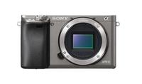 Sony α ILCE-6000 24.3MP CMOS 6000 x 4000Pixel (Graphit, Grau)