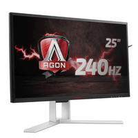 AOC AG251FZ 24.5Zoll Full HD Schwarz, Rot Computerbildschirm (Schwarz, Rot)