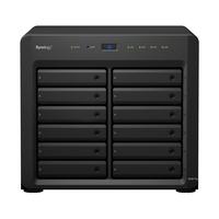 Synology DiskStation DS3617xs NAS Desktop Eingebauter Ethernet-Anschluss Schwarz (Schwarz)
