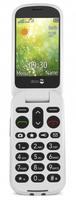 Doro 6050 2.8Zoll 111g Grau, Weiß Einsteigertelefon (Grau, Weiß)