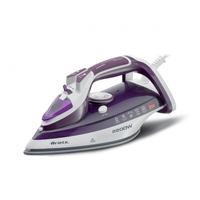 Ariete 6243 Trocken- & Dampfbügeleisen Keramik-Bügelsohle 2200W Violett, Weiß (Violett, Weiß)