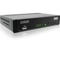 Schwaiger DTR600HD Terrestrisch Full-HD Schwarz TV Set-Top-Box (Schwarz)