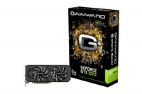 Gainward 426018336-3750 GeForce GTX 1070 8GB GDDR5 Grafikkarte (Schwarz)