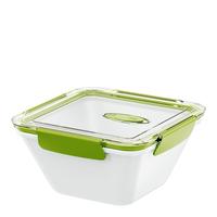 EMSA Bento Lunch container 1.5l Polypropylene (PP) Grün, Weiß (Grün, Weiß)
