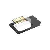 Hama 00137464 SIM card adapter SIM-/Memory-Card-Adapter (Schwarz)