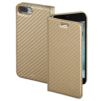 Hama Guard Case - Carbon 5.5Zoll Mobile phone folio Gold (Gold)
