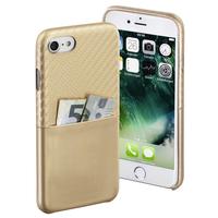 Hama Carbon 4.7Zoll Handy-Abdeckung Gold (Gold)
