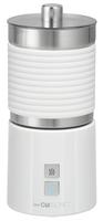 Clatronic MS 3654 Automatische Milchaufschäumer Weiß (Weiß)