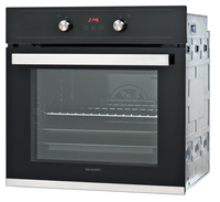 Sharp Home Appliances K-60D22BM1 69l 2600W A Schwarz (Schwarz)