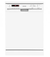 Sharp Home Appliances QW-GT21F472W Unterbau 12Stellen A++ Spülmaschine