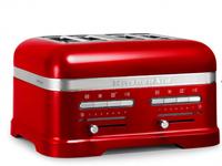 KitchenAid 5KMT4205ECA 4Scheibe(n) 2500W Rot Toaster (Rot)