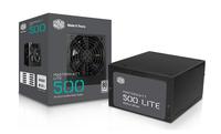 Cooler Master MasterWatt Lite 500W 500W ATX Schwarz (Schwarz)
