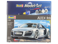 Revell Model Set Audi R8 1:24 Montagesatz Supersportwagen (Silber)