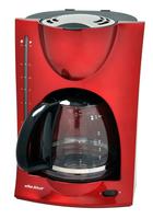 Efbe-Schott SC KA 1050 R Freistehend Filterkaffeemaschine 1.5l 12Tassen Rot Kaffeemaschine (Rot)