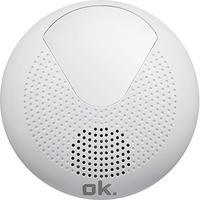 OK. OSR 310 Tragbar Digital Weiß Radio (Weiß)