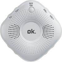 OK. OSR 110 Tragbar Digital Weiß Radio (Weiß)