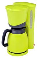 Efbe-Schott KA 520.1 Lemon Freistehend Halbautomatisch Filterkaffeemaschine 8Tassen Gelb (Gelb)