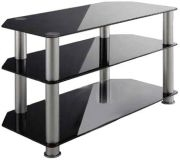 Schnepel AS 80 P TV desk (Schwarz)