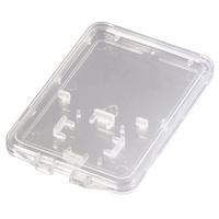 Hama SD and microSD Slim Box (Transparent)