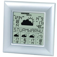Technoline WD 9000 Wetterstation (Silber)