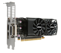 MSI V809-2404R GeForce GTX 1050 Ti 4GB GDDR5 Grafikkarte (Schwarz)