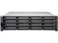 QNAP ES1640dc NAS Rack (3U) Eingebauter Ethernet-Anschluss Schwarz (Schwarz)