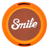 Smile 70's Home Digitalkamera 55mm Orange Objektivdeckel (Orange)