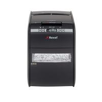 Rexel Auto+ 90X Strip shredding 60dB Schwarz Aktenvernichter (Schwarz)