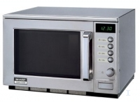 Sharp R-25AM Professional Microwave (Edelstahl)