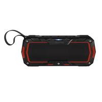 Hama Rockman-L Stereo portable speaker 6W Schwarz, Rot (Schwarz, Rot)
