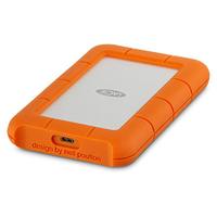 LaCie Rugged USB-C USB Type-C 3.1 (3.1 Gen 2) 4000GB Silber (Orange, Silber)