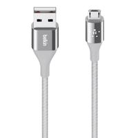 Belkin DuraTek 1.2m USB A Micro-USB B Silber USB Kabel (Silber)