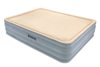 Bestway Komfort-Luftbett mit Schaumstoff-Liegefläche / Super (Beige, Grau)