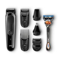 Braun MGK3060 Wiederaufladbar Schwarz Haarschneider/-schermaschine (Schwarz)