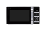 Sharp Home Appliances R860S Arbeitsfläche Kombi-Mikrowelle 25l 900W Silber Mikrowelle (Silber)