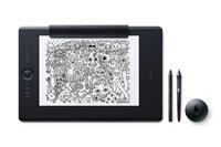 Wacom Intuos Pro Paper 5080lpi 311 x 216mm USB/Bluetooth Schwarz Grafiktablett (Schwarz)